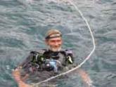 scuba diver Robert Camp