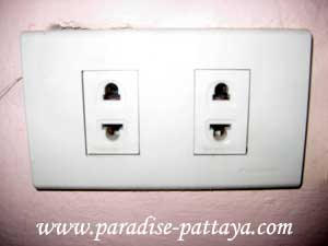 electricity in thailand socket