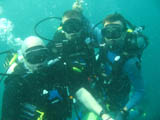 3 other divers at the site