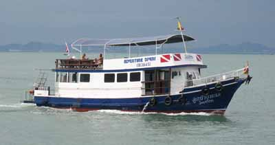 The Saifon Scuba Dive Boat