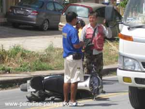 driving in pattaya can cause accidents