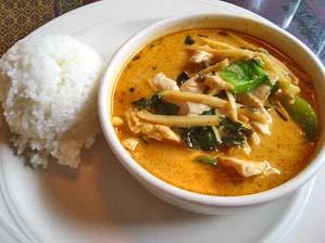 bahn thai restaurant in Pattaya food