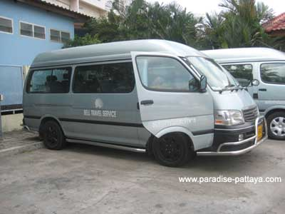 ride of bell travel service pattaya