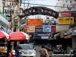 images of pattaya boyz town entrance