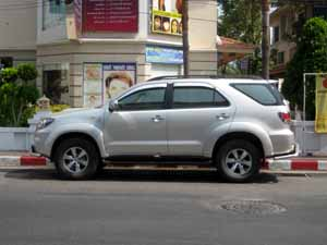 car rental in pattaya thailand options