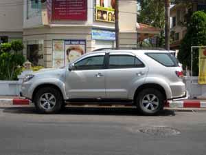 car rental in pattaya thailand options