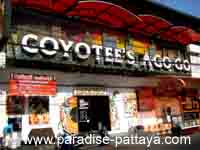 Coyotees a gogo bar pattaya