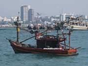fisherboat on Pattaya