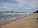 jomtien beach on a windy day