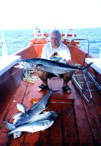 Fishing in Pattaya Images King Mackerel