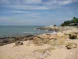 Naklua beach from the East