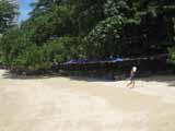 Naklua beach deckchair