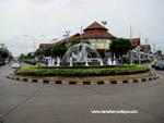 dolphin roundabout in Pattaya Naklua