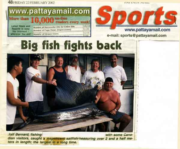 fishing in pattaya images king mackerel newspaper