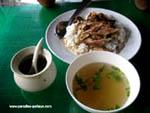 Тайский рис с мясом за 50 Бат
