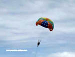 parasailing at Jomtien Beach near Pattaya