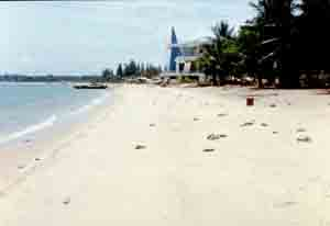 Пляж Паттайи 1960-ых
