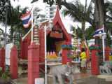 Beach road small temple