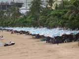 Pattaya Beach from Walking Street