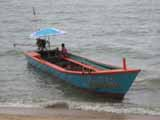 pattaya beach boat