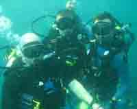 Pattaya Adventure divers underwater