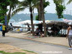promenade on Pattaya's beach road