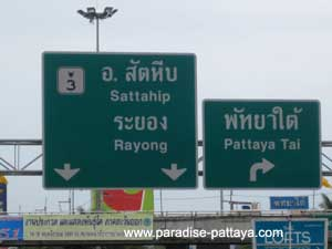 directions to Pattaya Buddha mountain