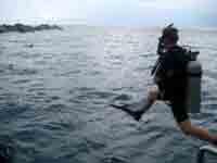 open water jump