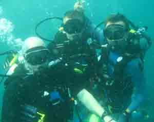 diving pattaya scuba 3 divers