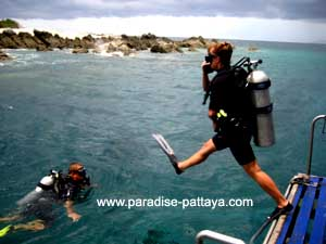 get ready for your first Pattaya dive