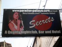 Pattaya Secrets sign
