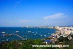 Pattaya Skyline during the day