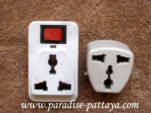 electricity in thailand plug adaptors