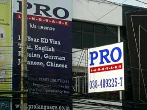 thai language schools in Pattaya