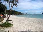 sandy beach on Koh Samet island