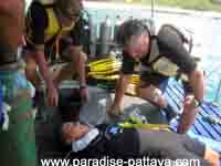 rescue mission practice in Pattaya