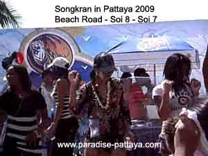 Songkran in Pattaya 2009...same as today