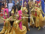 Thai girls in Mardi Gras