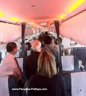 inside one of Thailand airlines