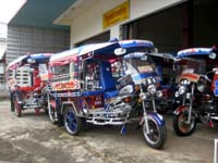 nongkhai thailand tuk tuks
