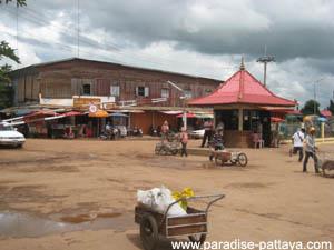 pattaya visa run cambodian border