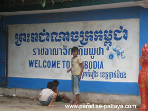 pattaya visa run to cambodia