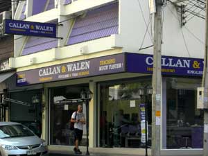 Walen language school in Pattaya