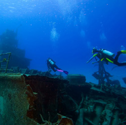 wreck diving scuba thailand