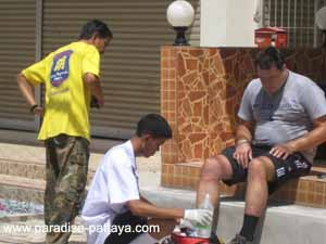 driving accident in pattaya