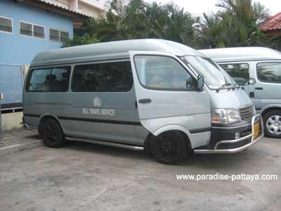 ride of bell travel service pattaya