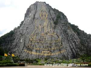130 метровое изображение будды