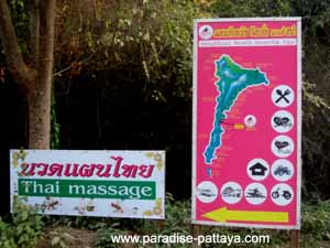 koh samet thailand map