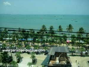 Вид на залив Паттайи