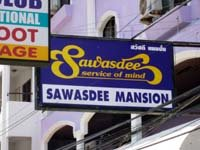 pattaya guesthouses sawasdee mansion